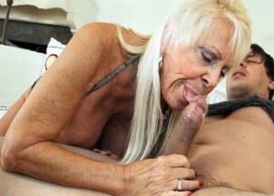 Dick flash granny