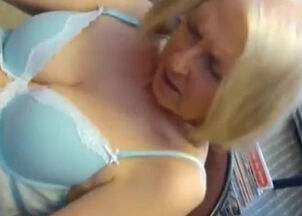 Granny blowjob hd