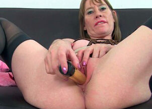 Mom caught with dildo