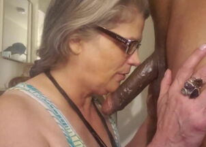 Black milf interracial