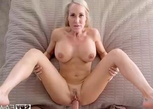 Jerking off for mom