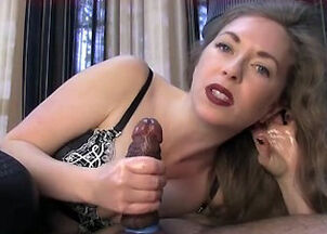 Relaxing handjob